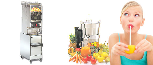 Santos Juicers by Dynamic Equipment