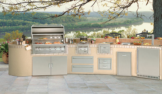 Vintage Luxury Outdoor Kitchens ...