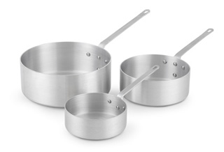 Deep Sauce Pans with Traditional Handle