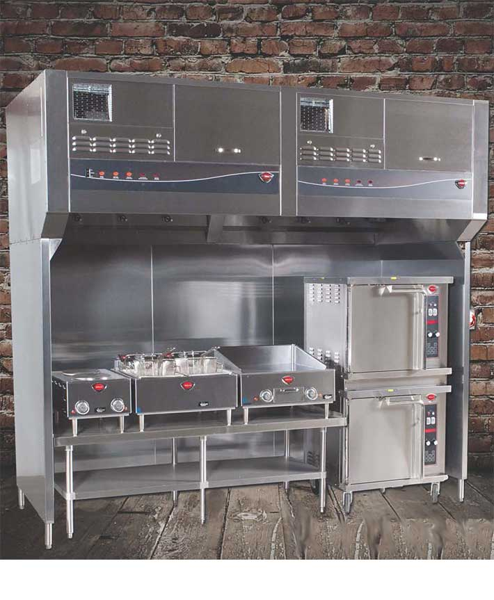 Commercial Kitchen Stove Cleaning
